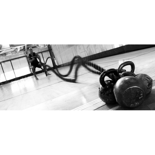 Канат для кроссфита LiveUp Battle Rope 9 м ТЯЖЕЛЫЙ ВЕС 10 КГ!!